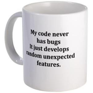code bug free mug from gifts for a geek